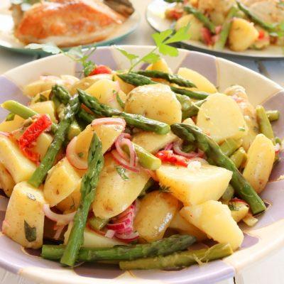 Potato, Asparagus & Pastrami Salad