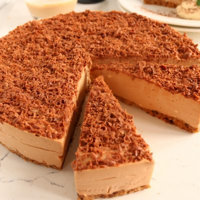 Milk Chocolate & Baileys Cheesecake