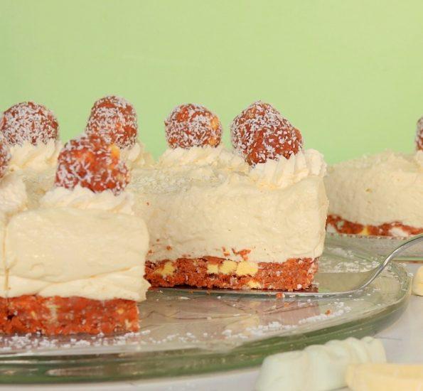 Lolly Log, White Chocolate Cheesecake