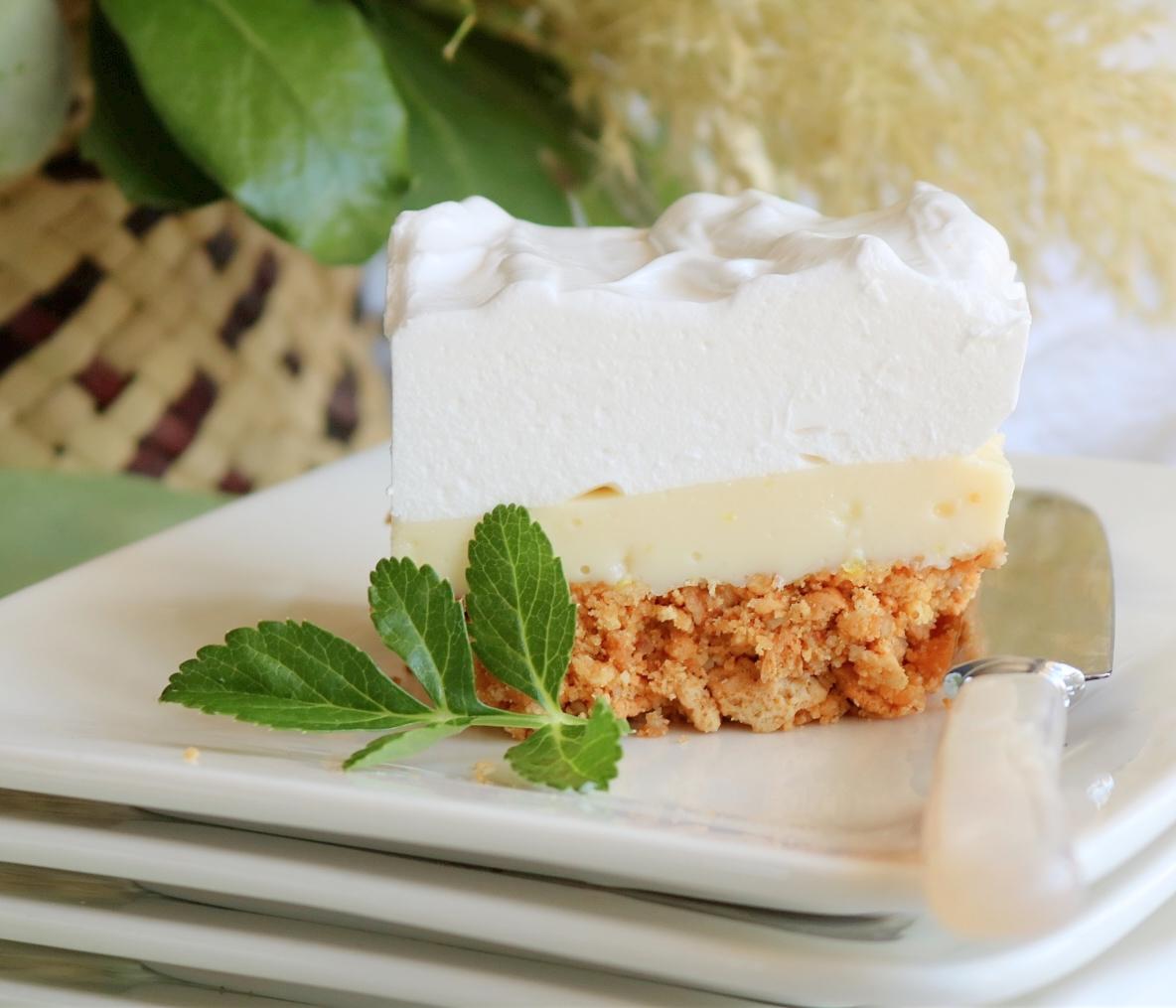 Fluffy Marshmallow Slice