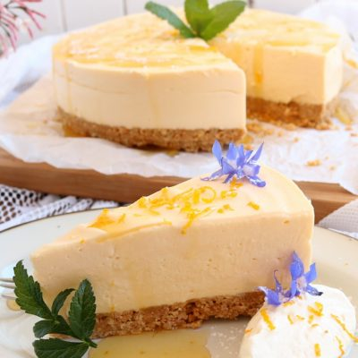Lemon, Honey Cheesecake