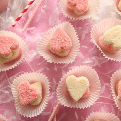 Valentines Coconut Ice