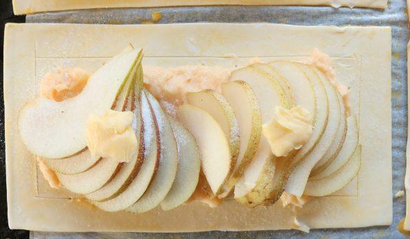 French Pear & Maple Custard Tarts