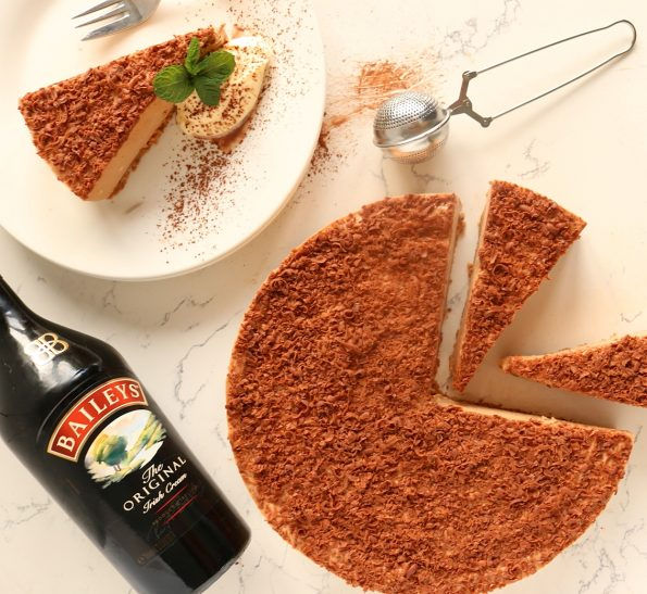 Milk Chocolate & Baileys Cheesecake
