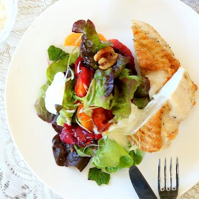 Roasted Tamarillo Salad