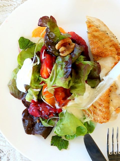 Roasted Tamarillo Salad