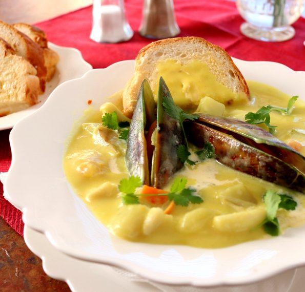 creamy seafood