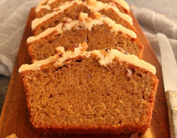 coffee caramel loaf
