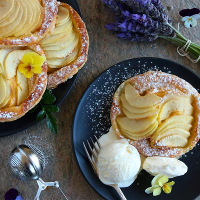 french apple tarts