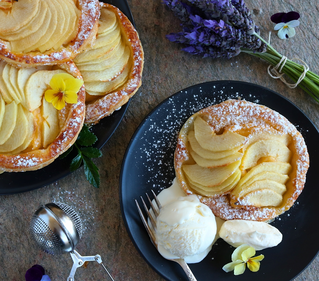 French Country Apple Tarts