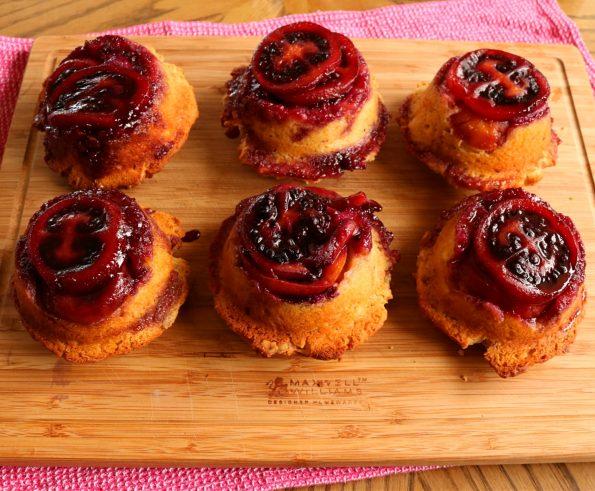 tamarillo upside down muffins