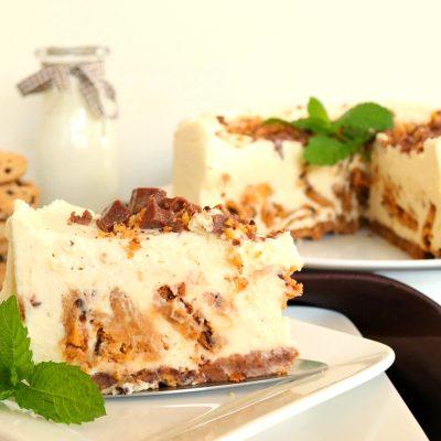 Creamy, Cookie Bear Chocolate Chippie Cheesecake