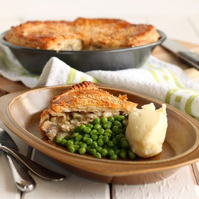 Country, Chicken & Mushroom Pie