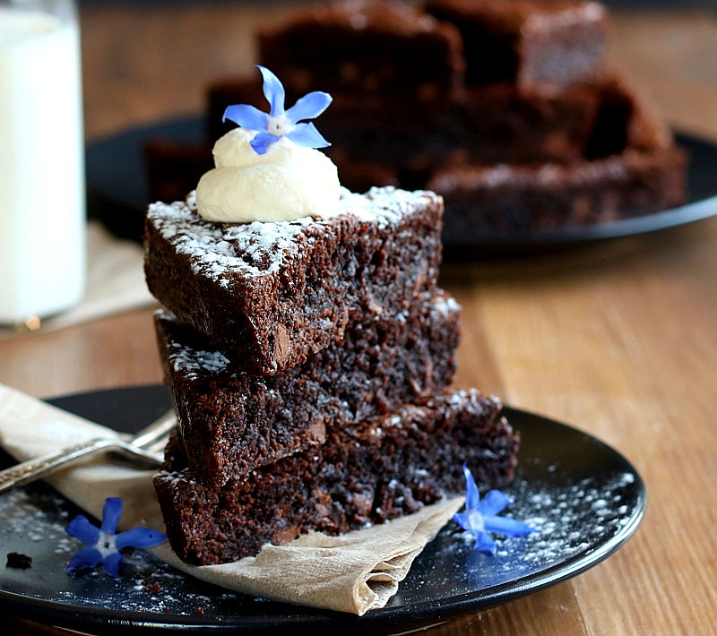 Fudgy Chocolate Brownie