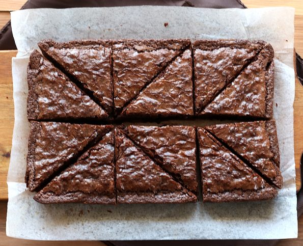 Chewy, Gooey, Chocolate Brownie