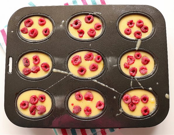 Raspberry & Lemon Friands