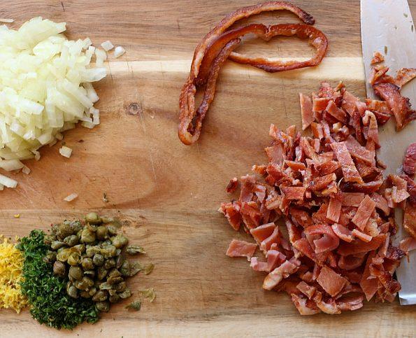 Bacon & Smoked Fish Pie