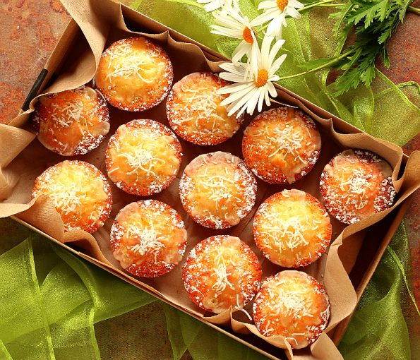 Coconut & Lime Friands