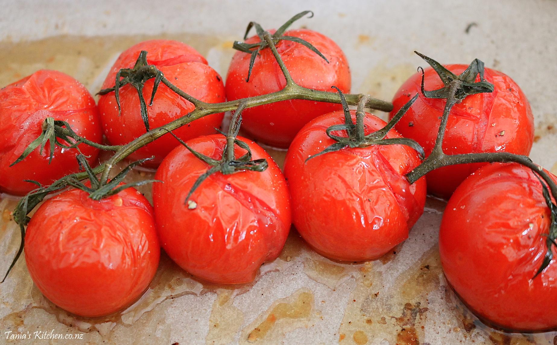 Roasted Vine-Ripened Tomatoes