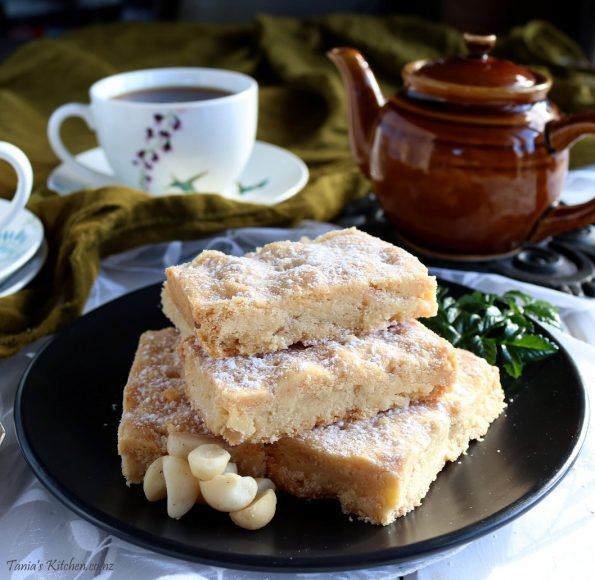 macadamia nut shortbread