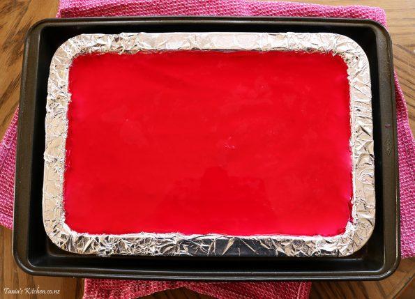 Jelly cheesecake