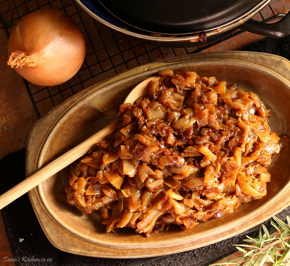 How To Caramelised Onions