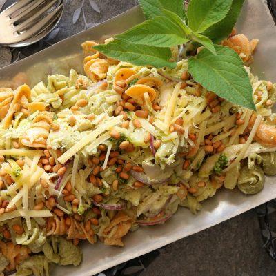 Chicken, Basil Pesto & Pine Nut, Pasta Salad