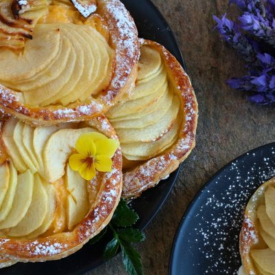 french apple tarts