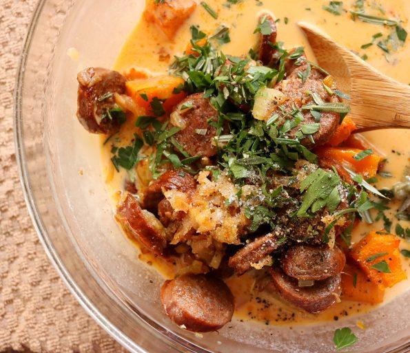 umpkin & Chorizo Frittata