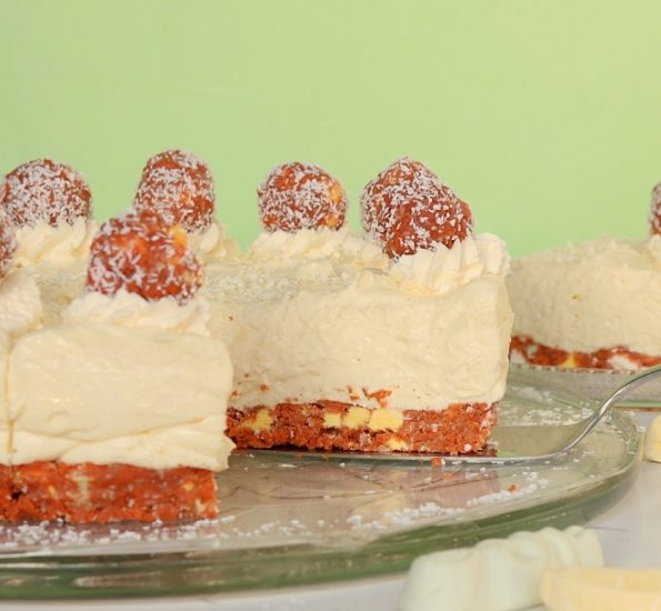 Lolly Log, White Chocolate Cheesecake
