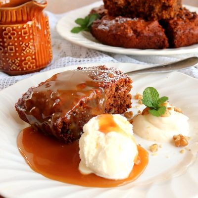 Sticky Date, Toffee Pudding with Butterscotch Sauce