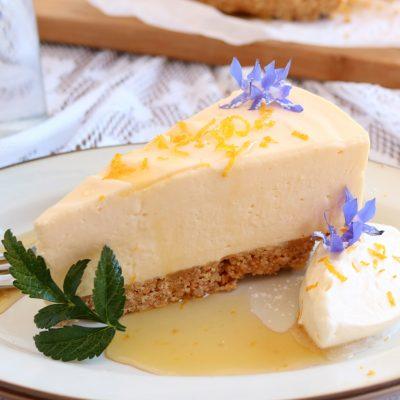 Lemon, Honey Cheesecake