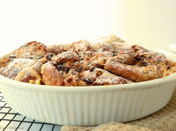 Easter Bread & Butter Pudding
