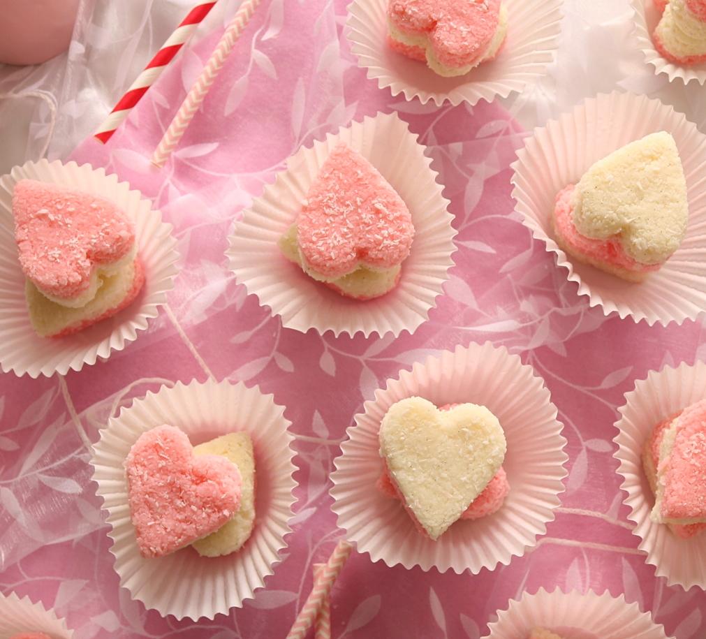 Valentine's Coconut Ice