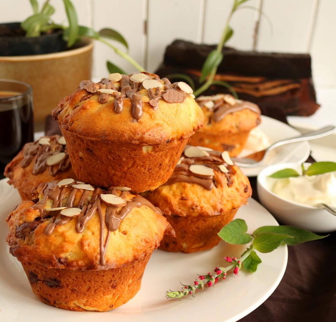Chunky Chocolate Muffins