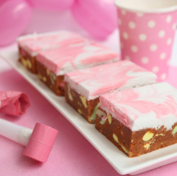 marshmallow lolly log