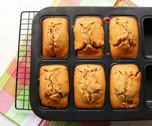 Baby, Feijoa & Crispy Walnut Gingerbread Loaves