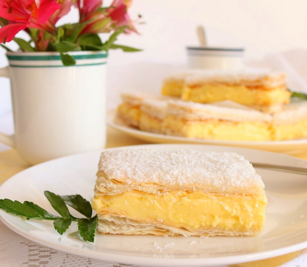 The Best Custard Squares