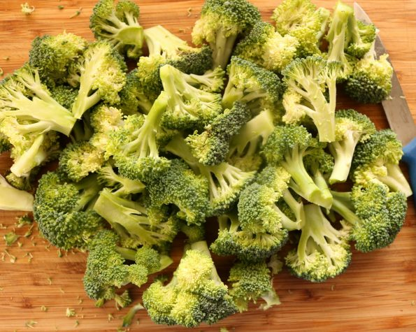 Potato, Ham & Broccoli, Self-Crusting Quiche