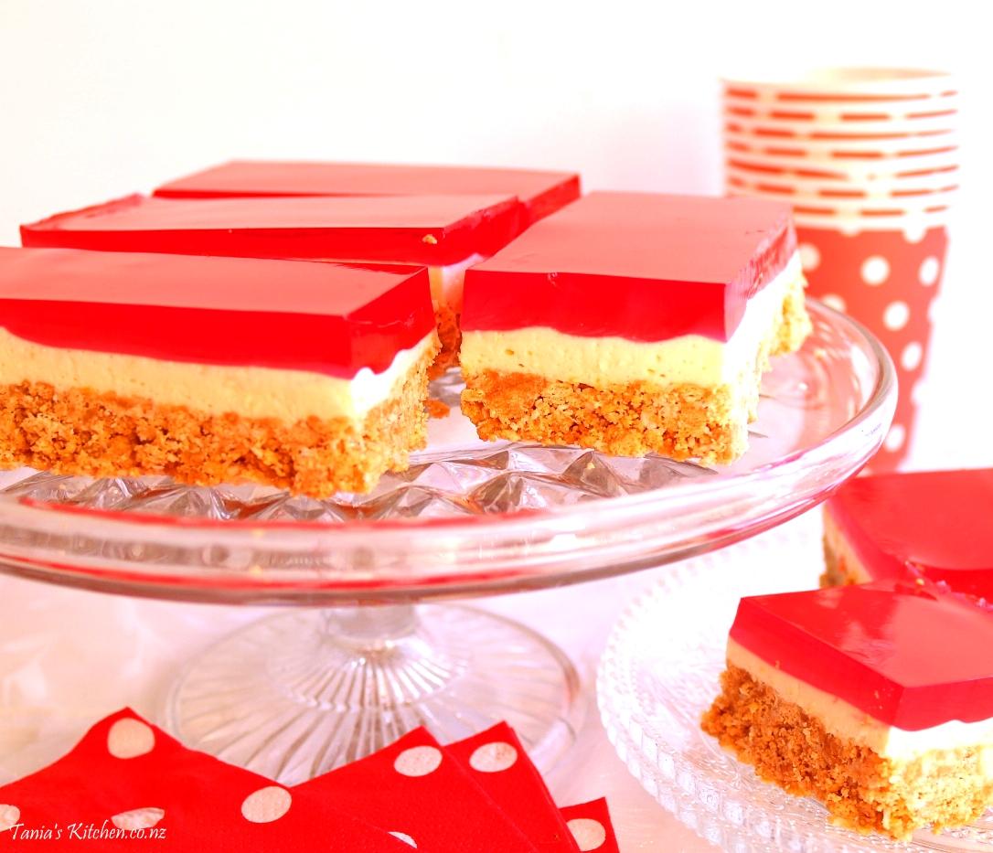 Cute Jelly Cheesecake Slice